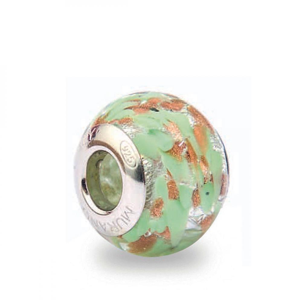 Murano Glass Charm Bead - Trentatre Photo