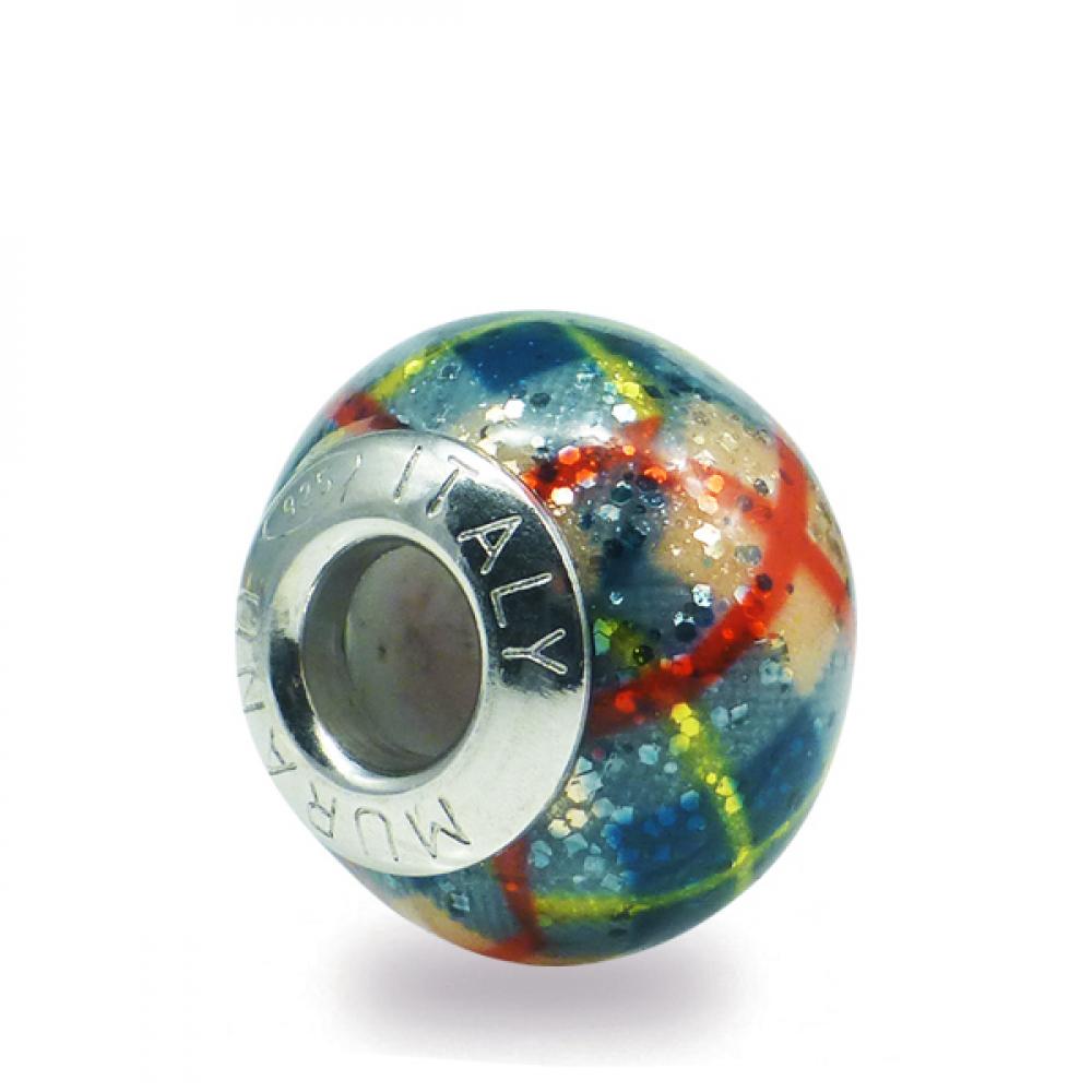 Murano Glass charm bead - Trentaquattro 1 Photo