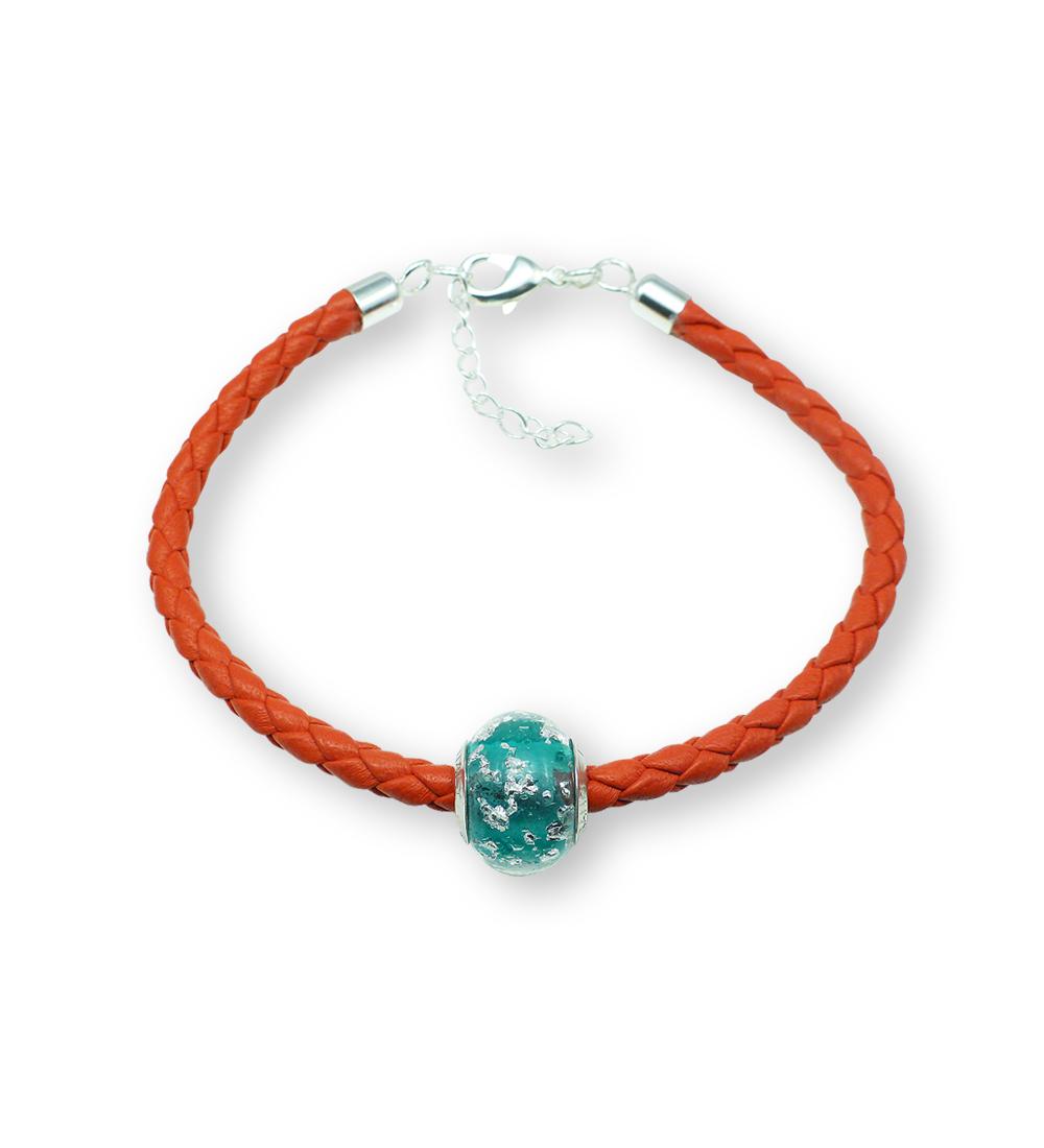 Venezia Nove Nappa Leather Charm Bracelet