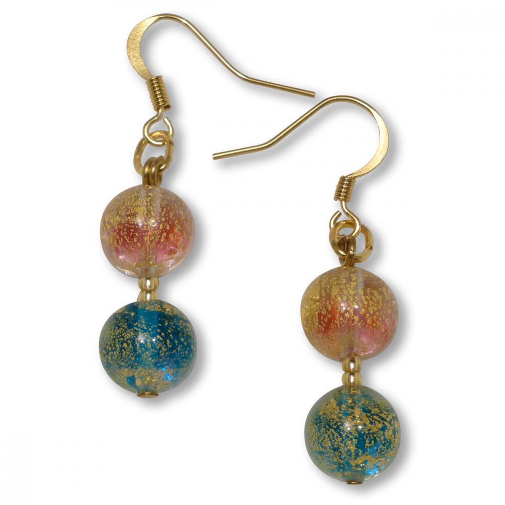 Murano Glass Earrings - Chiara Photo