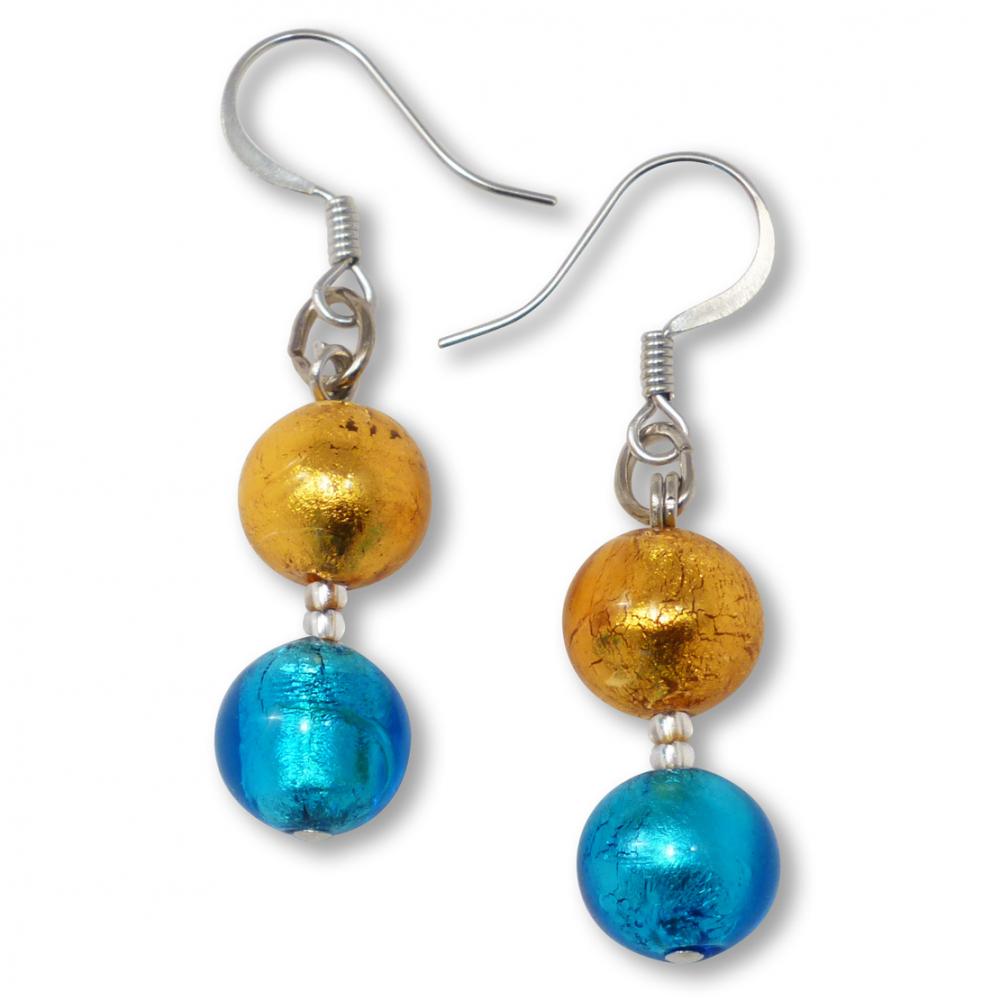 Murano Glass Earrings - Gianna Photo