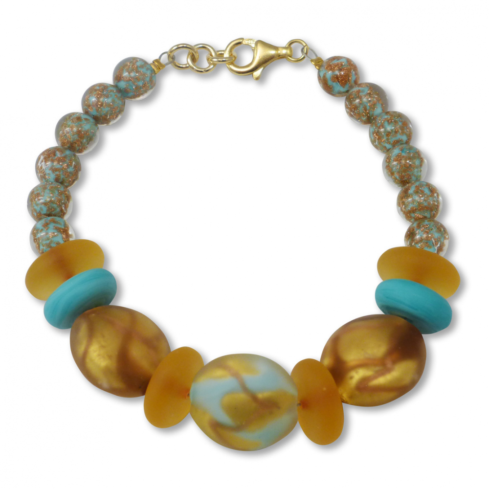 Murano Glass Bracelet - Julietta Photo