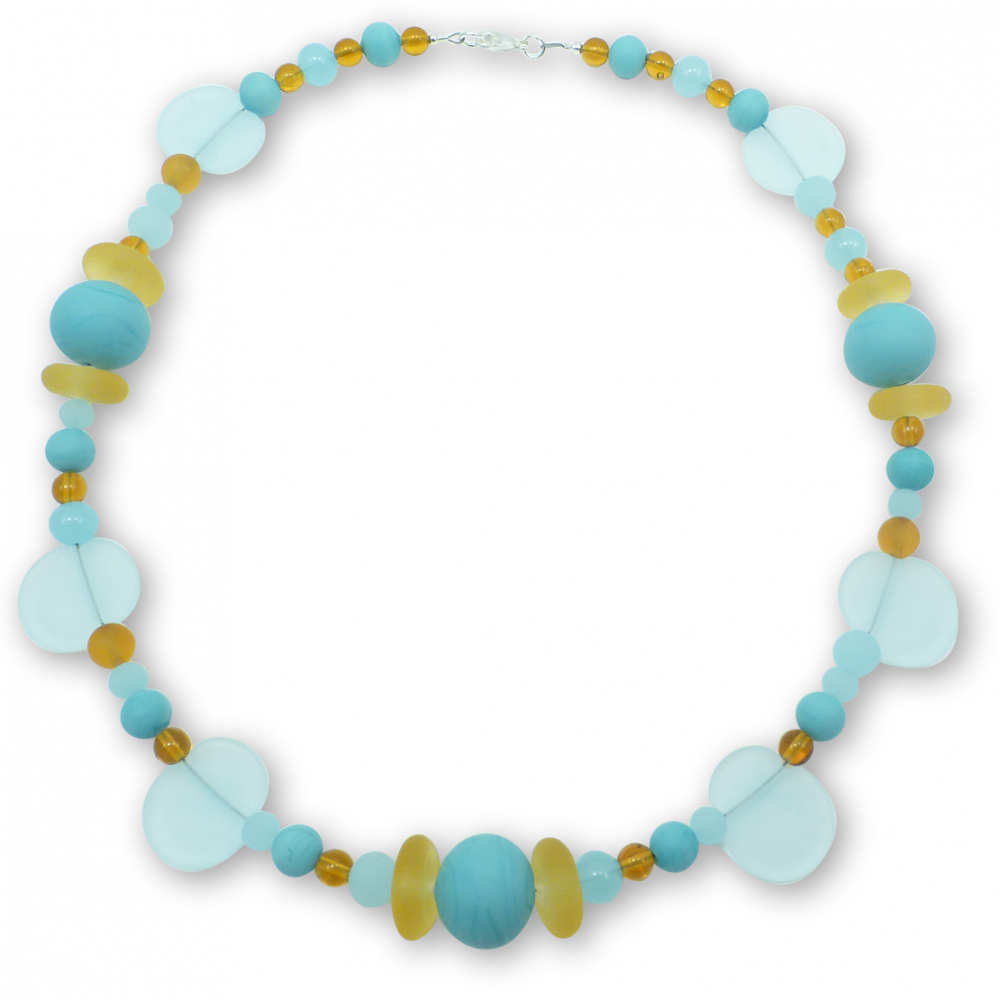 Murano Glass Necklace - Emiliana Photo