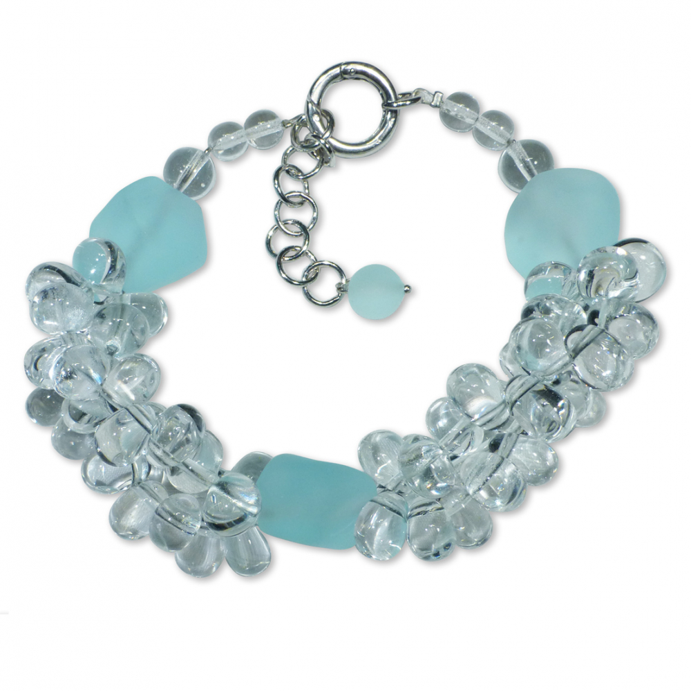 Murano Glass Bracelet - Piera Crystallo Photo
