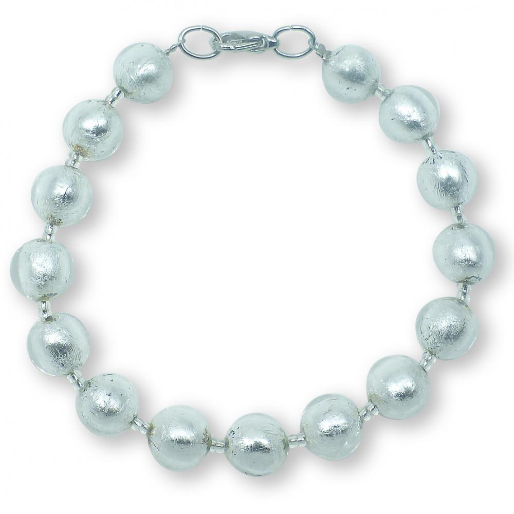 Murano Glass bracelet - Gianna Silver Photo