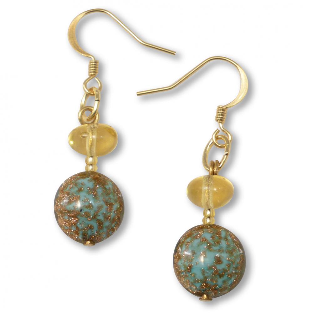 Murano Glass Earrings - Aria Photo