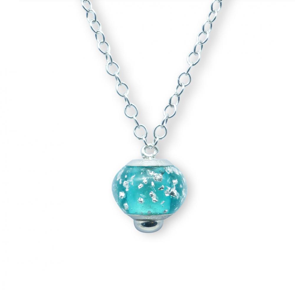 Murano glass charm necklet – Venezia Nove Photo