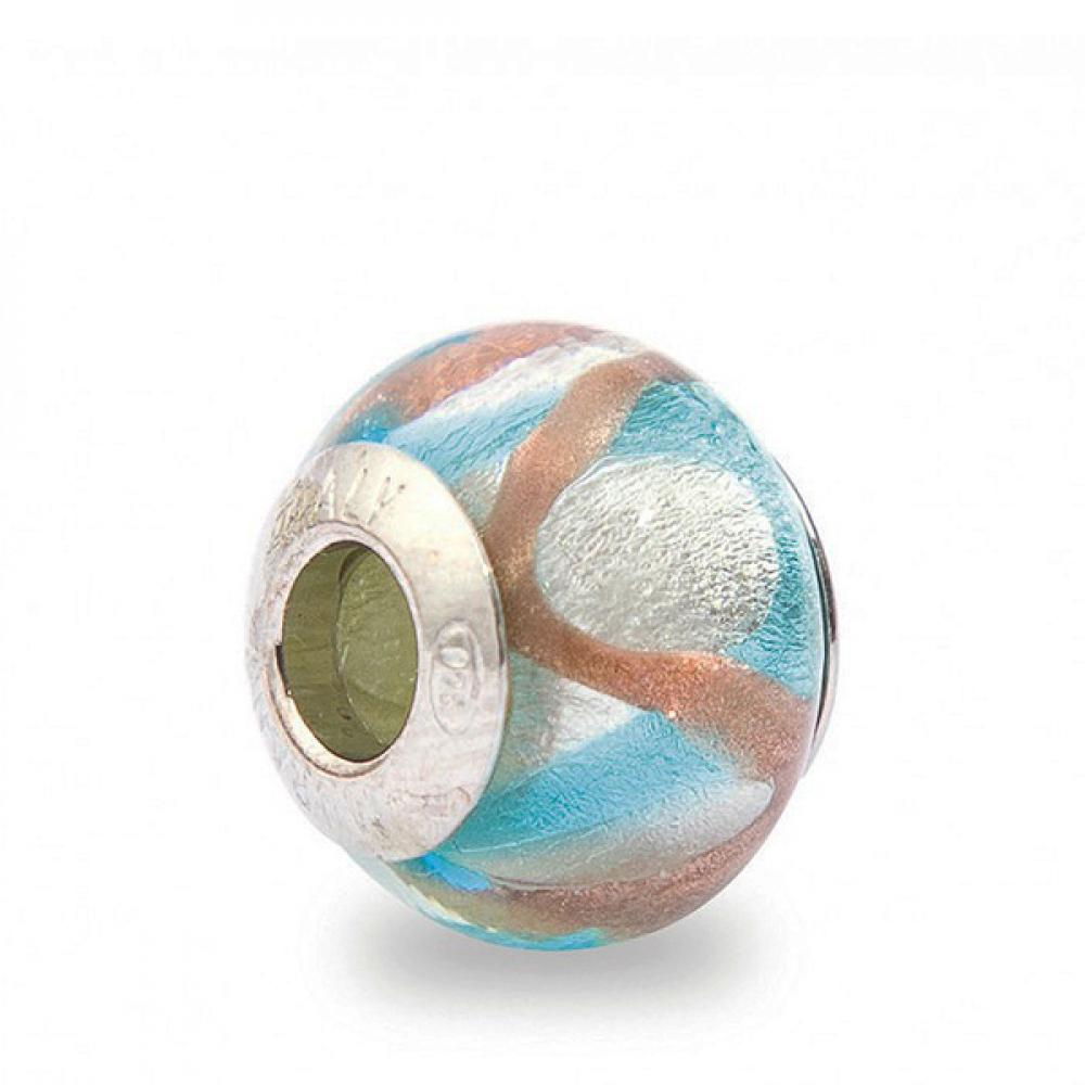 Murano Glass Charm Bead - Ventuno Photo