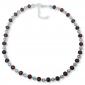 Murano glass necklace - Esta Ruby Photo
