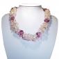 Murano Glass Necklace - Piera Coral Photo