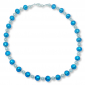 Murano Glass Necklace - Gianna Azure Photo
